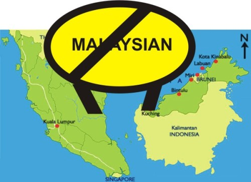 Malaysia is only for Malays, Chinese, Indians, Thais, Portugese, Ibans, Kadazans, Dusuns etc
